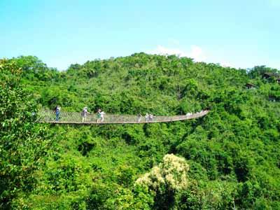 海南5天游_三亚亚龙湾热带天堂森林公园