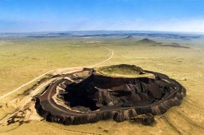 内蒙古五天游景点_乌兰哈达火山群