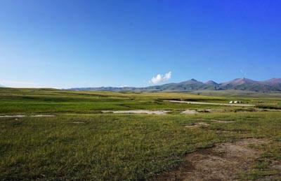 新疆8天游景点_巴音布鲁克大草原