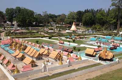 泰国6天游-泰国芭提雅-迷你暹罗