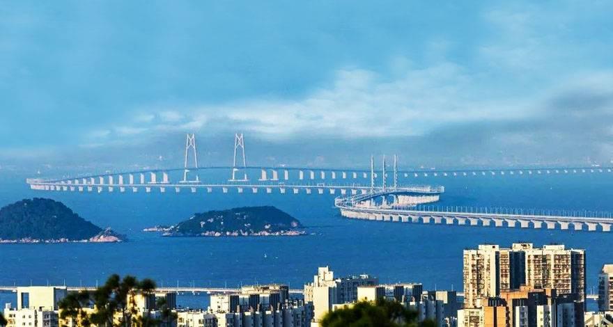 港珠澳大桥 东涌自由购物香港一天游