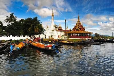 缅甸茵莱湖