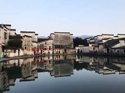 黄山五天游:安徽宏村