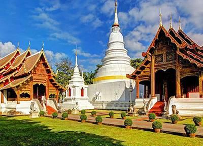 泰国清迈、清莱五天游_泰国清迈风光