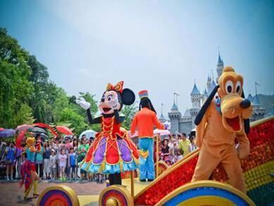 香港迪士尼樂園兩日游_香港迪士尼樂園