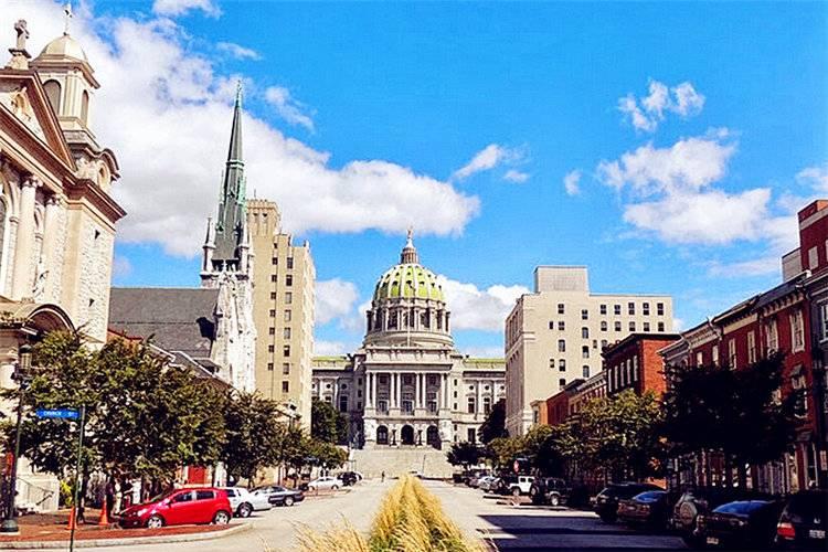 美国东西岸15天:美国波士顿哈佛大学
