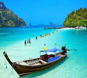 泰国甲米、普吉 6天游:泰国普吉PP岛