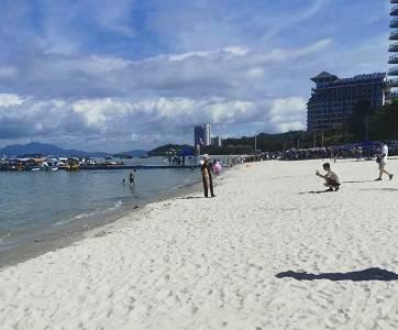 惠州惠东巽寮湾两日游 广东三亚风情式的休闲度假胜地  THZJ&QS