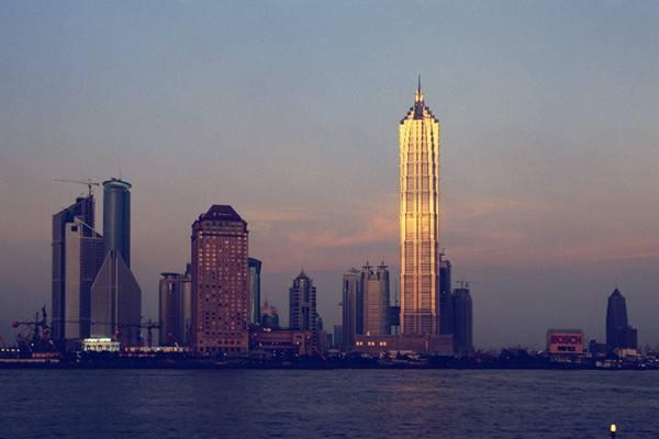 上海金茂大厦88层观光厅金茂观光厅