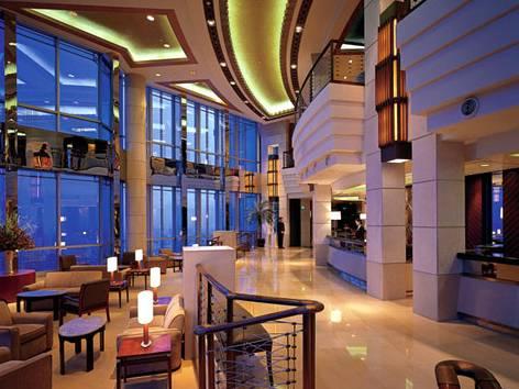 上海金茂大厦88层观光厅53至第87层