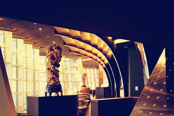 上海金茂大厦88层观光厅食府