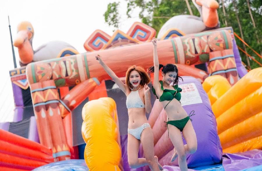 【7天内畅玩】广州长隆水上乐园+欢乐世界特惠全票(04.17-05.31)
