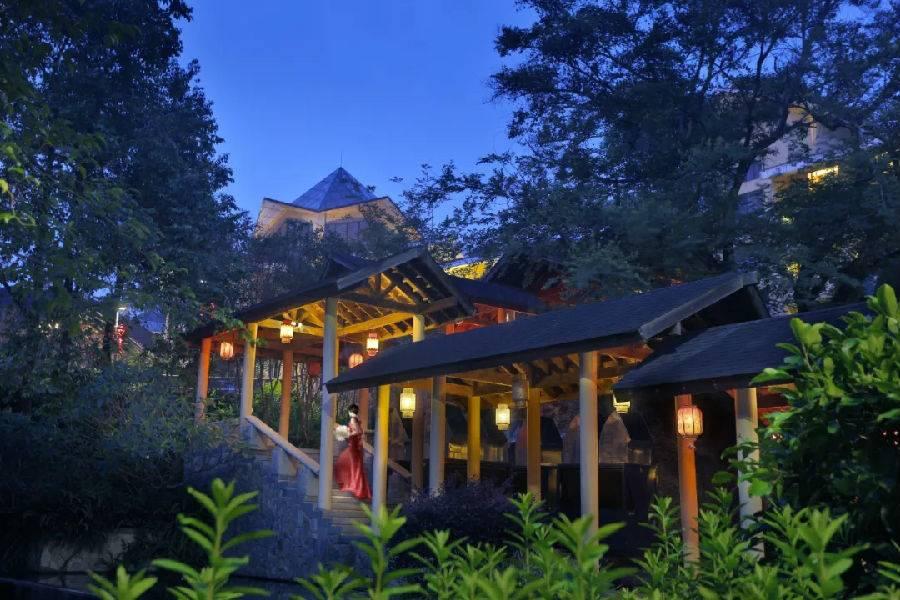 【惠州·龙门】今夏爆火网红!海鲜自助晚+水上乐园~¥698地派独家特惠!含景观房+超多拍照点+无限次温泉+早餐~种草无数的暑假森林避暑地~