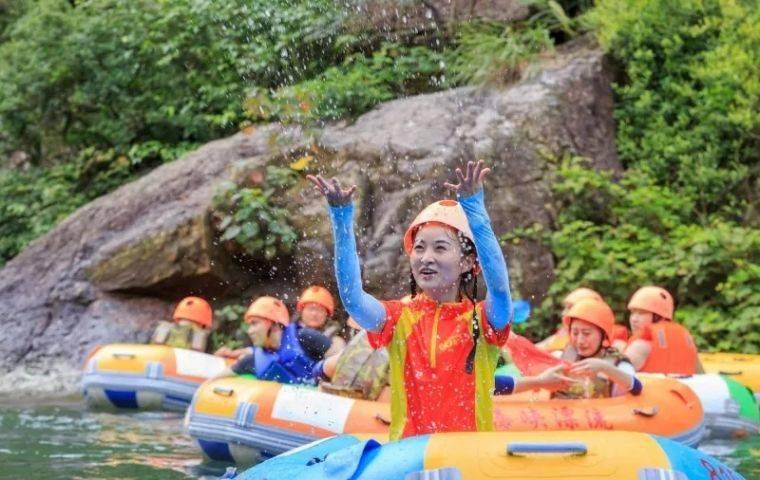 【已开漂】【清远黄腾峡】(需当天12:00前预订)全程勇猛漂流-成人票