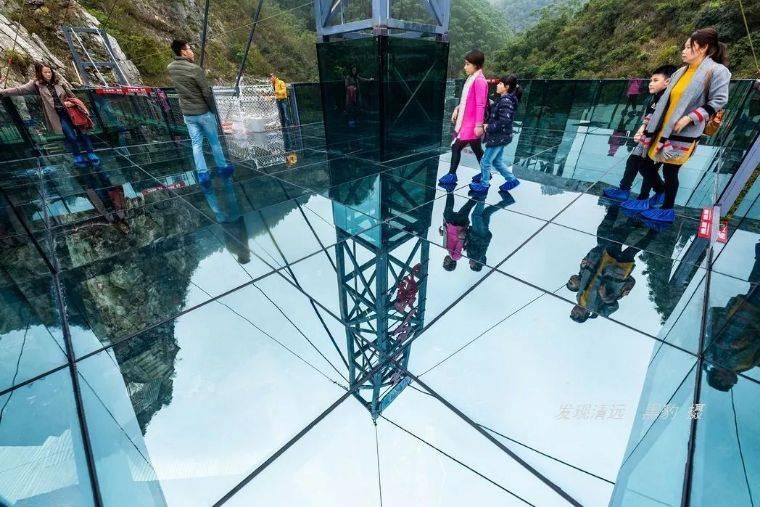 清远龙腾峡 空中玻璃全程漂流(含自然峡谷漂+空中玻璃漂)