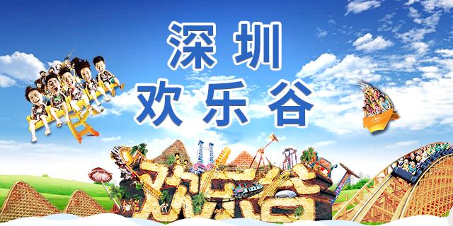 【深圳.门票】110元抢120元深圳欢乐谷狂欢节夜场票,大小同价!一票通玩,快来体验。