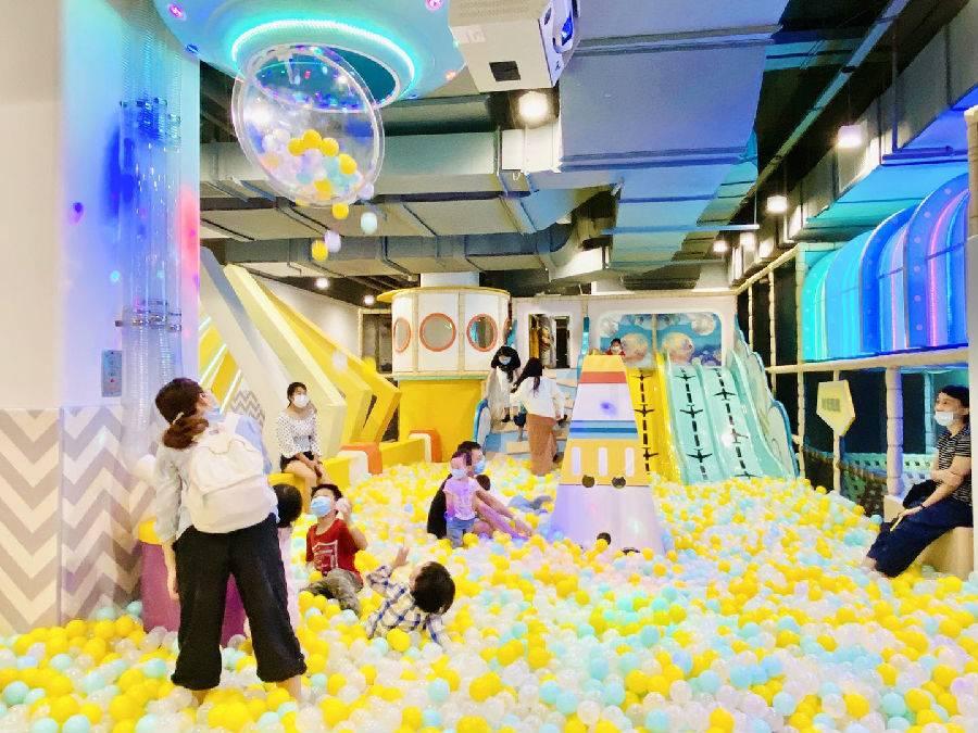 【福田·亲子】69.9元抢购物公园150元『星趣童堡』1大1小亲子票!