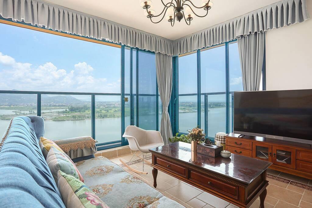 【惠州双月湾·酒店】99元抢1188元双月湾二期2房1厅!最多可住6人,下楼就是海!