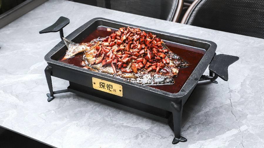 【龙华/宝安·美食】88元抢门市价168元『探炉烤鱼』双人套餐!冬日约上ta来一起吃烤鱼,暖心又暖胃~
