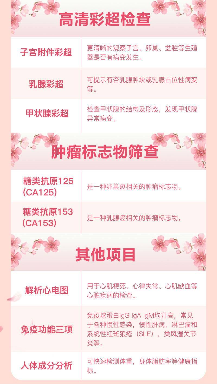 【深圳·体检】女神福利!380元抢1566元女王节女性专项体检套餐!深圳6店通用