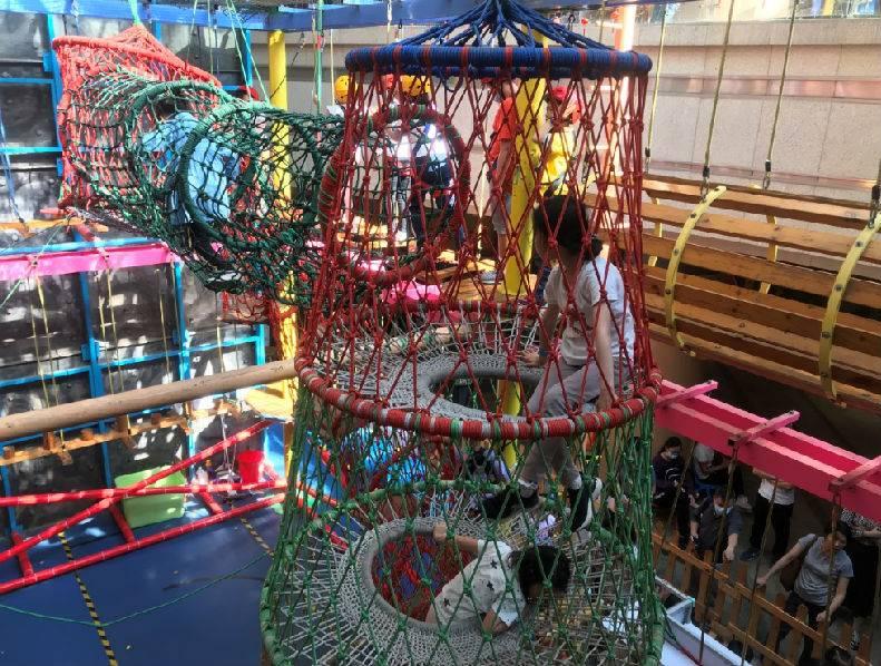 【龙华ATMALL·乐园】五一、六一可用!59元抢108元『小勇士探险乐园』单人套票(2小时),充满挑战和刺激的乐园!