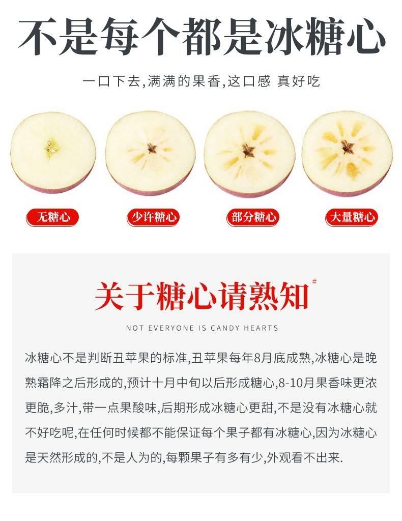 【全国包邮】现摘现发!『大凉山糖心丑苹果』清新上市!29.9元=净重5斤,39.9元=净重9斤;嘎嘣清爽,甜进心里!