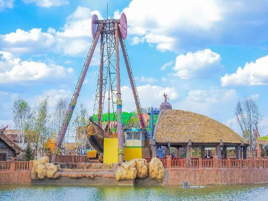哈尔滨万达电影室外整版乐园v电影兔的主题完乐园图片