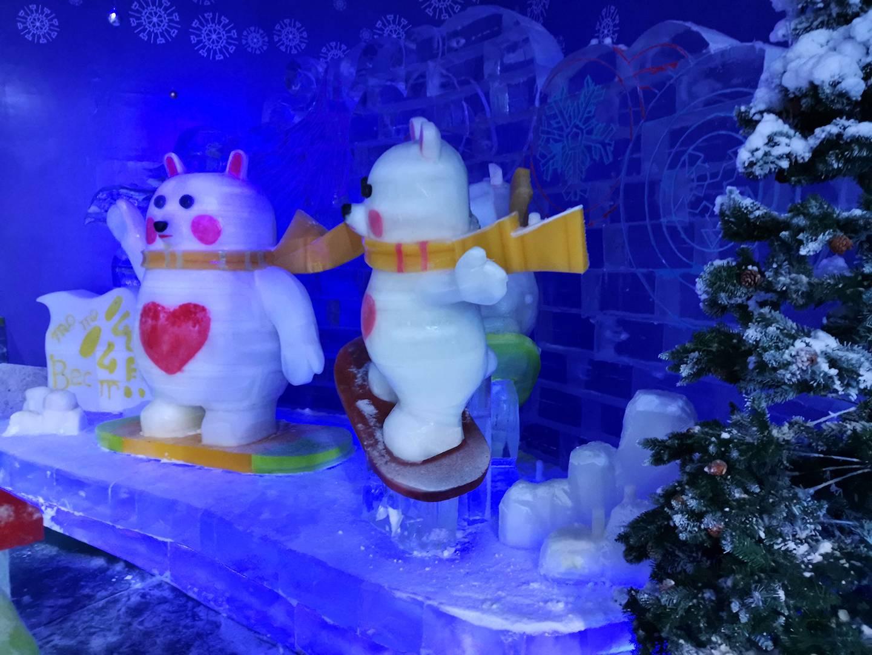 【东莞】【开学特辑】么么熊冰雪玩国39.9元抢购五人游玩套餐~东莞最嗨的冰雪乐园!冰雪过山车、极速滑道、冰上碰碰车等你来战