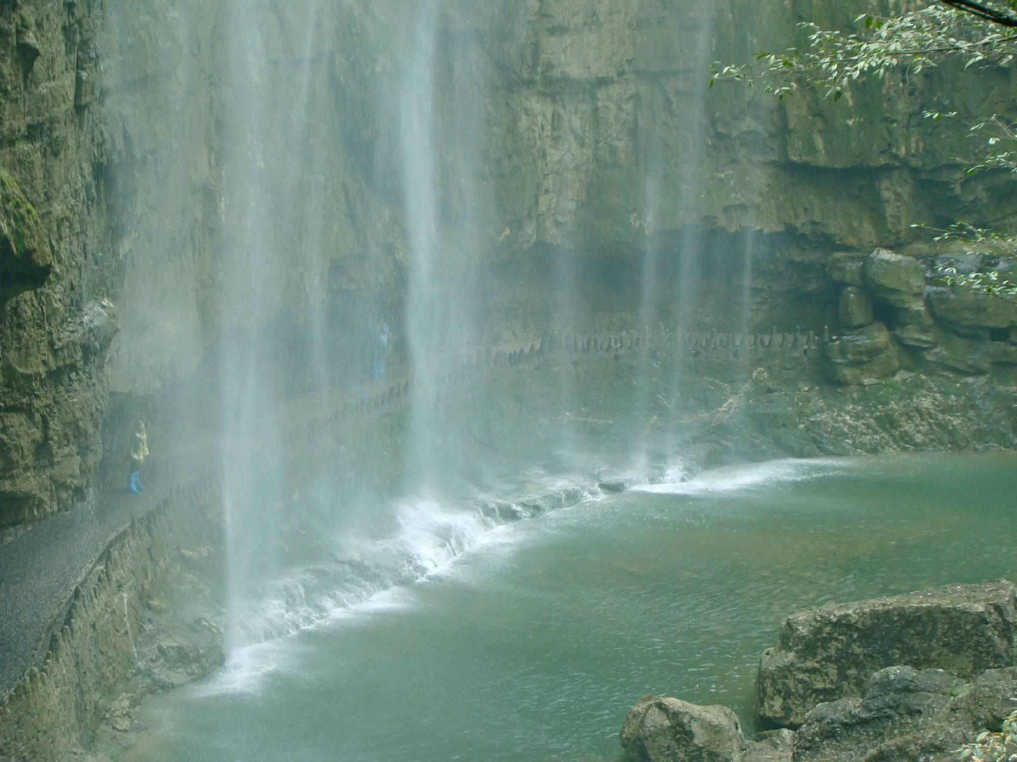 宜昌三峡大瀑布风景区门票一张