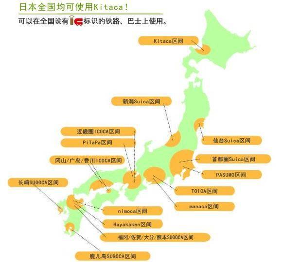 日本jr北海道kitaca卡交通购物储值一卡通机场柜台自取