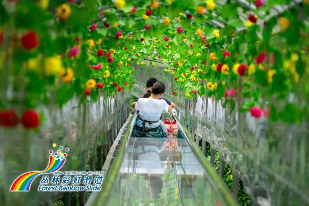 【清远】天子山瀑布大门票+丛林滑道+天子飞龙