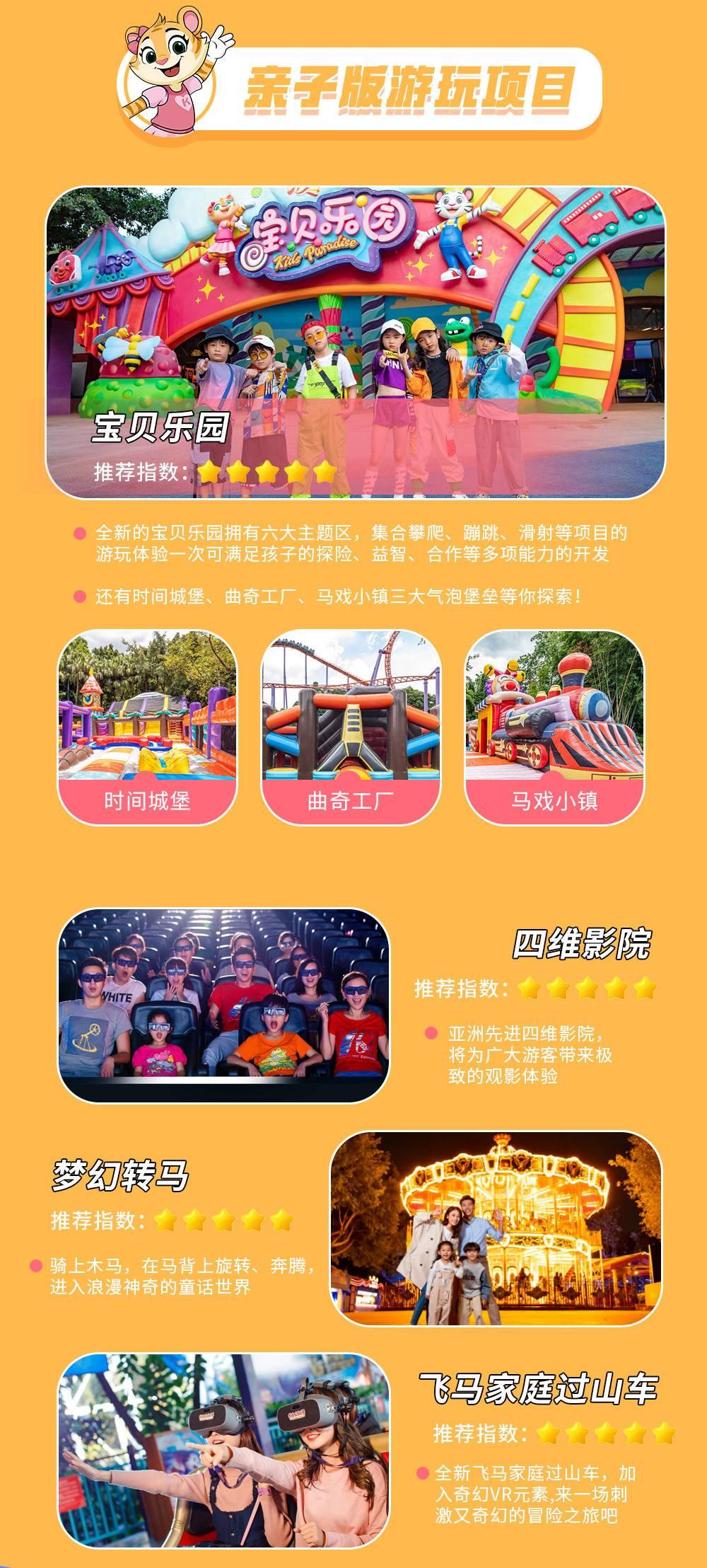 【一票多园两日无限次】广州长隆酒店/广州长隆熊猫酒店2店任选仅986起、珍稀动物、欢乐机动游戏应有尽有!