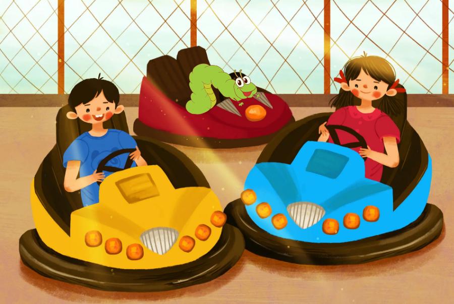 【上海锦江乐园】39元秒杀虫虫历险记夜场(大小同价)!碰碰车、双层木马、霹雳炮、火山影院等游乐项目不限次数畅玩!