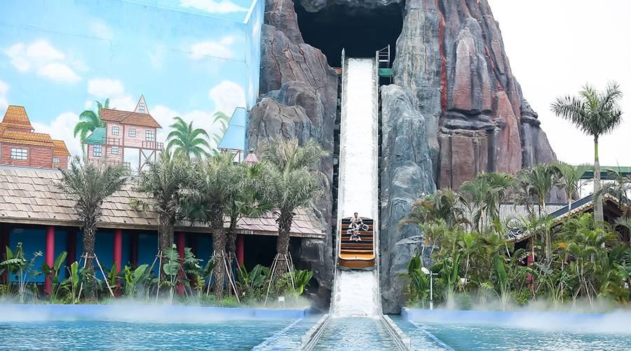 广州融创乐园+水世界成人畅玩票200元(提前一天,指定日期购票)