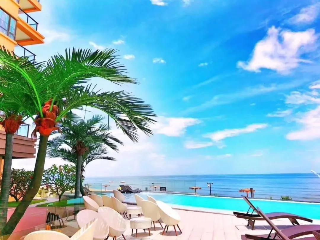 【惠州·双月湾】¥199元!买一送一!入住惠州双月湾虹海湾二期日出海景房!看日出暮看日落,欣赏媲美夏威夷的无敌海景~