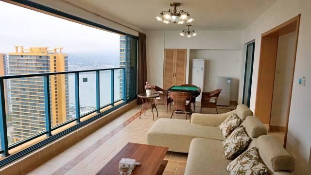 【惠州】买一送一,499元入住万科2期楼王90度海景两房一厅,面朝大海,靠海而居~含免费沙滩+ 免费房间wifi+免费畅游西班牙小镇