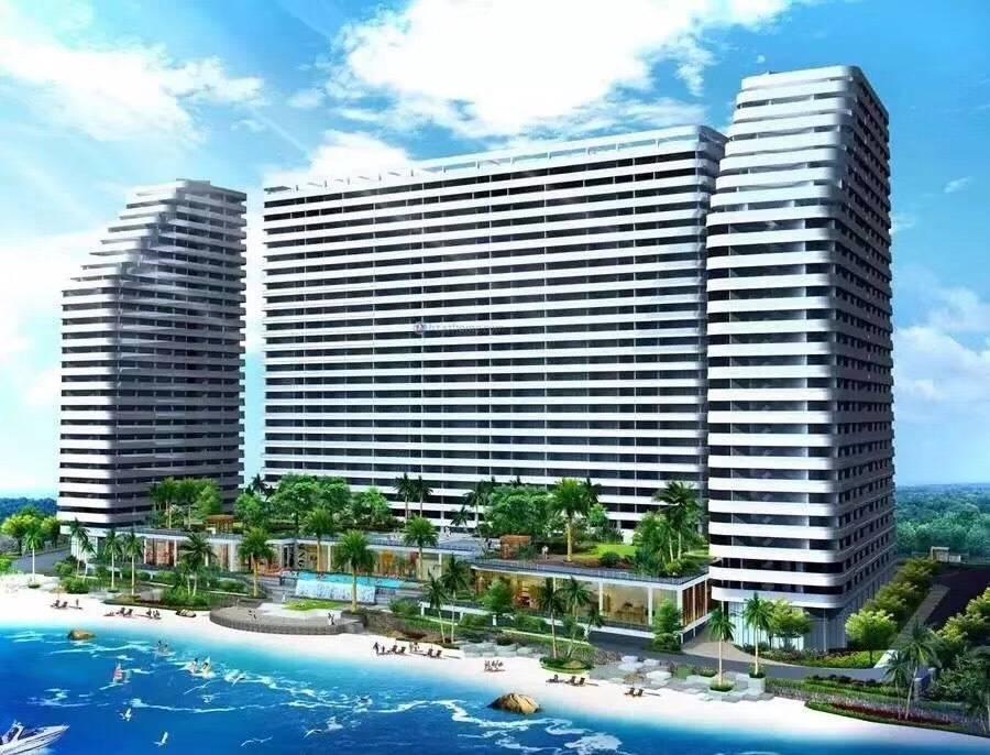 【惠州】欢度国庆一口价,楼下就是海,399元抢东能银滩度假酒店豪华侧海房!