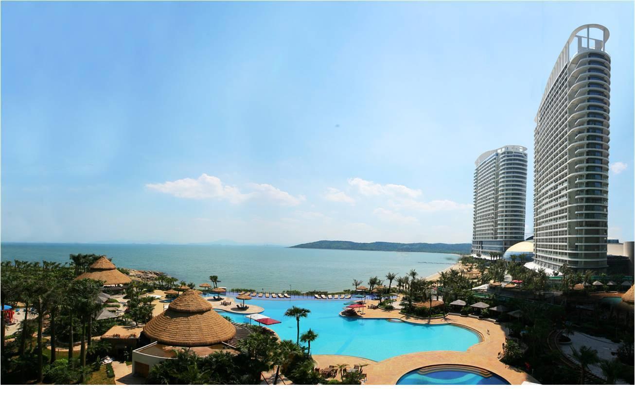【惠州·度假】59元秒杀融创海湾半岛海景房!海景大阳台,躺床上看日出,漫步1200米铂金沙滩!