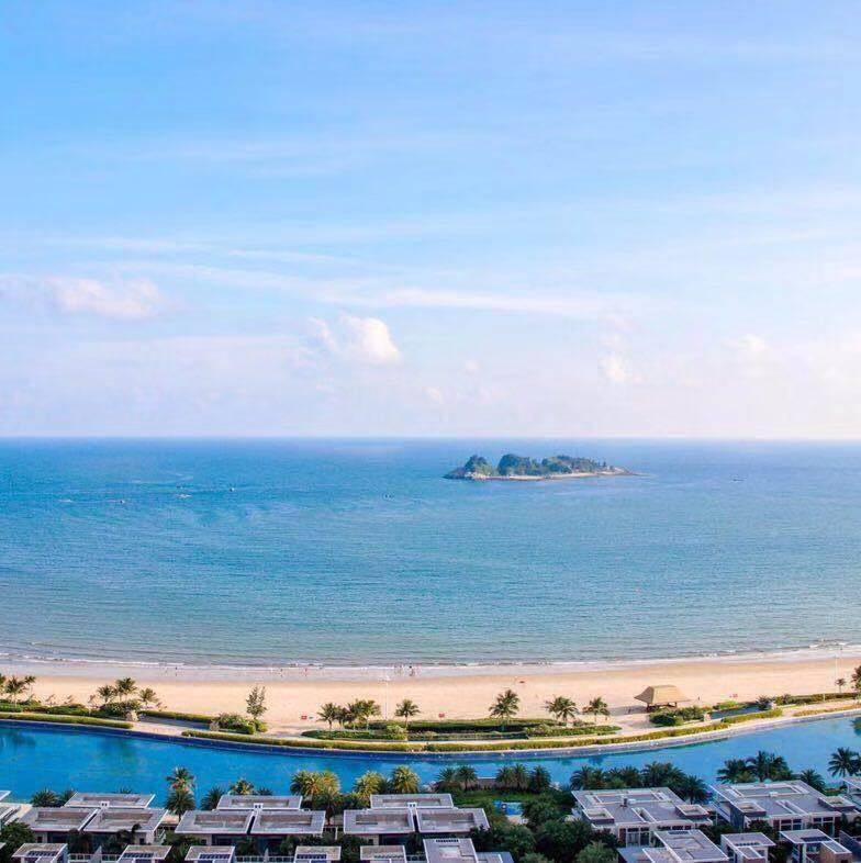 【阳江】阳江敏捷黄金海岸,仅需199元抢购敏捷40-42栋高楼层两房一厅海景房,5公里私家沙滩,5万㎡无边际网红水晶湖,使用有效期至年底!
