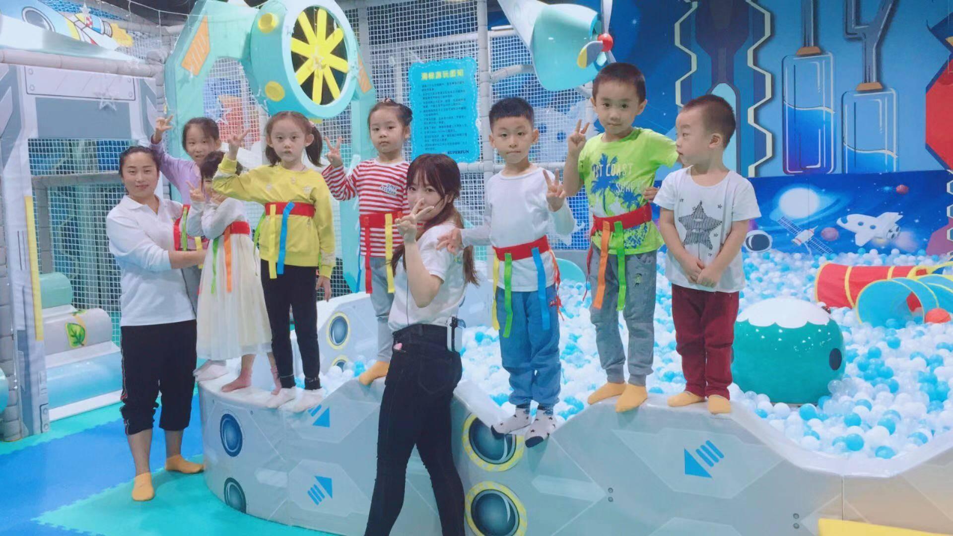 【深圳福田】已开园,每日消毒,地铁直达,39.9元抢超好玩儿童乐园亲子不限时畅玩套票,畅玩到6月。