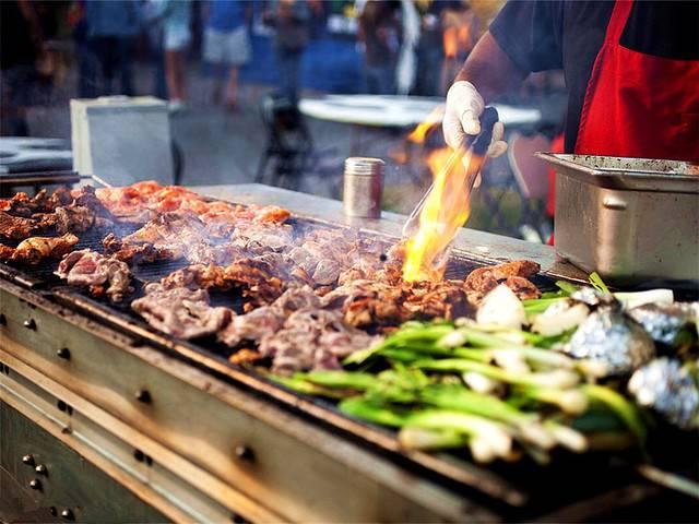 【嘉兴桐乡稻乡人家自助烧烤】全年周末节假日不加收~78元抢稻乡人家度假村门票+自助烧烤套餐!更是公司拓展、团建活动的好去处!1米以下免烧烤门票~走,带你吃肉肉去!