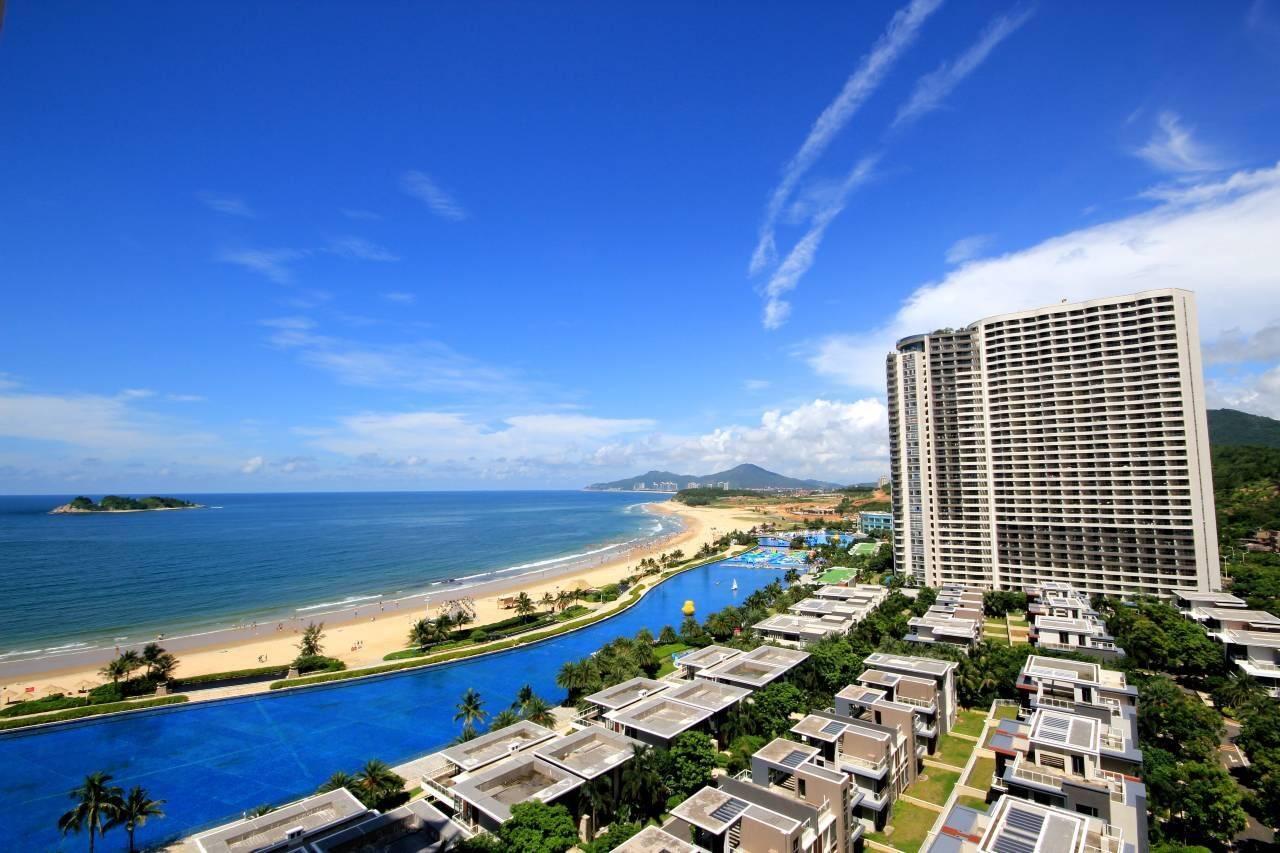 【阳江】可入住!69.9元秒杀敏捷黄金海岸35.36栋楼王海景房,推窗下楼即是海,4个月周末无加收!
