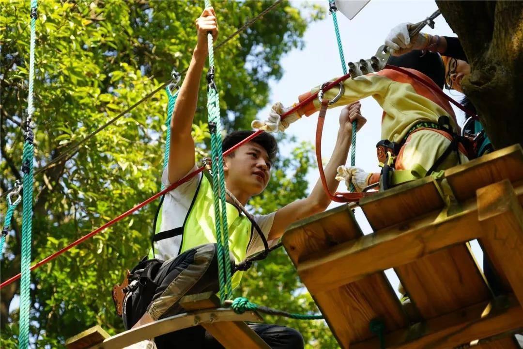 【五一专场】【广州】49.9元抢天鹿湖飞越丛林单人票红线~惊险!刺激!难度升级,等你来战!