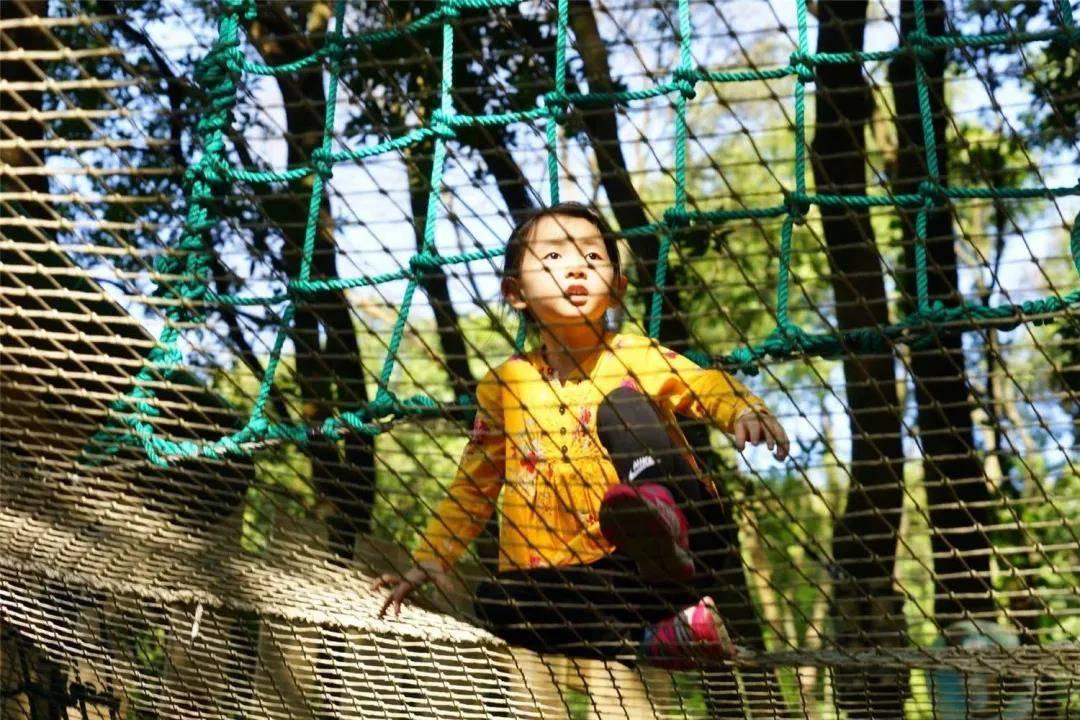 【广州飞越丛林探险乐园】周末节假日通用不加收!68.88元抢绿线一大一小亲子套票~惊险!刺激!难度升级,等你来战!