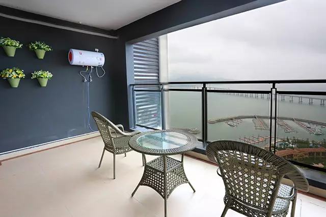【惠州】一口价!299元抢合正东部湾海边度假公寓海景房,2张水公园门票+享私家沙滩