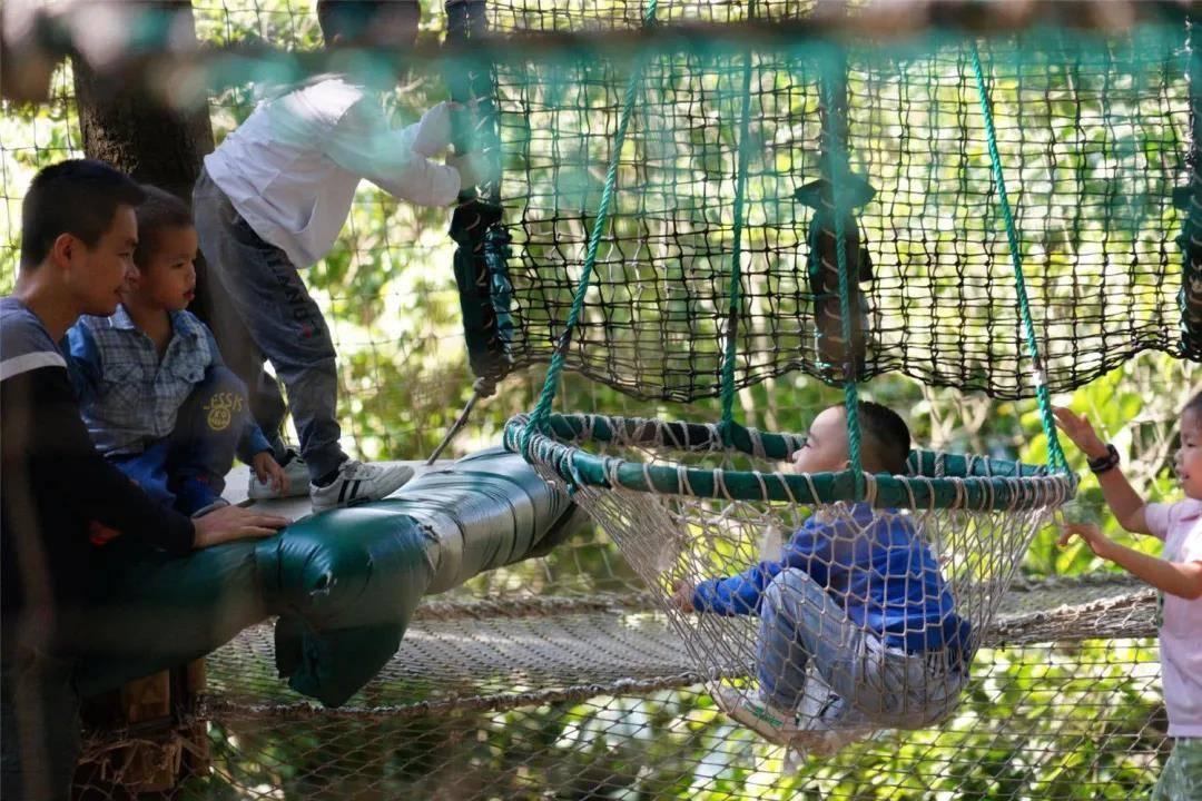【广州飞越丛林探险乐园】端午专场!29.9元抢飞越丛林单人票蛛网!惊险!刺激!难度升级,等你来战!