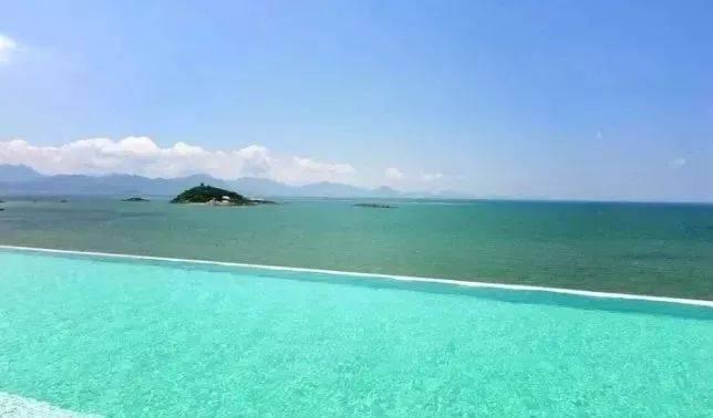 【惠州】全年平日周末无加收!399抢泡泡海两房一厅海景房!畅游网红无边际泳池!