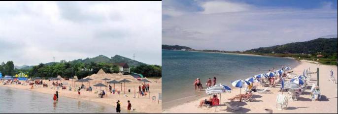 【清远】限量500套!49.9元抢清远英德云海江湾温泉+大樟沙沙滩1大1小门票,全年通用~~泡珍稀碱温泉,畅享如海边度假