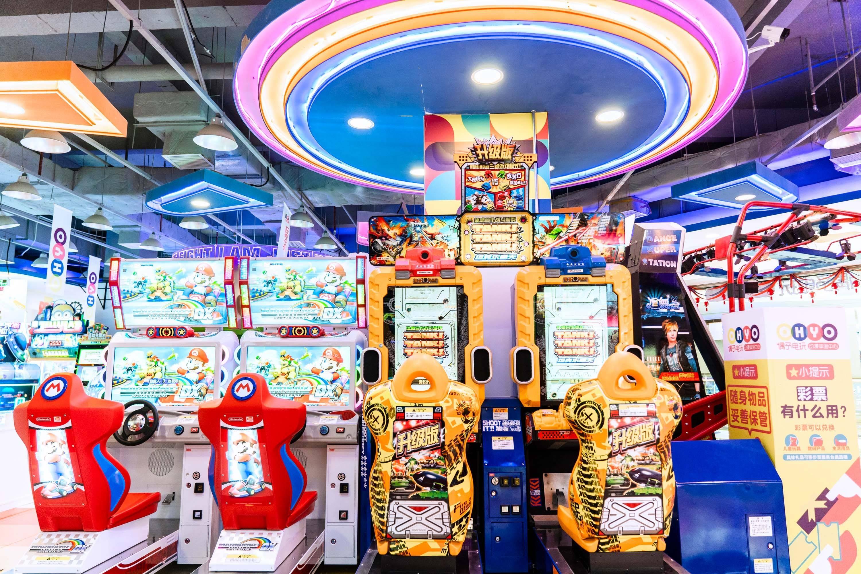 【佛山桂城天河城店】16.9元抢偶予电玩,送40枚游戏币,通玩不加价!