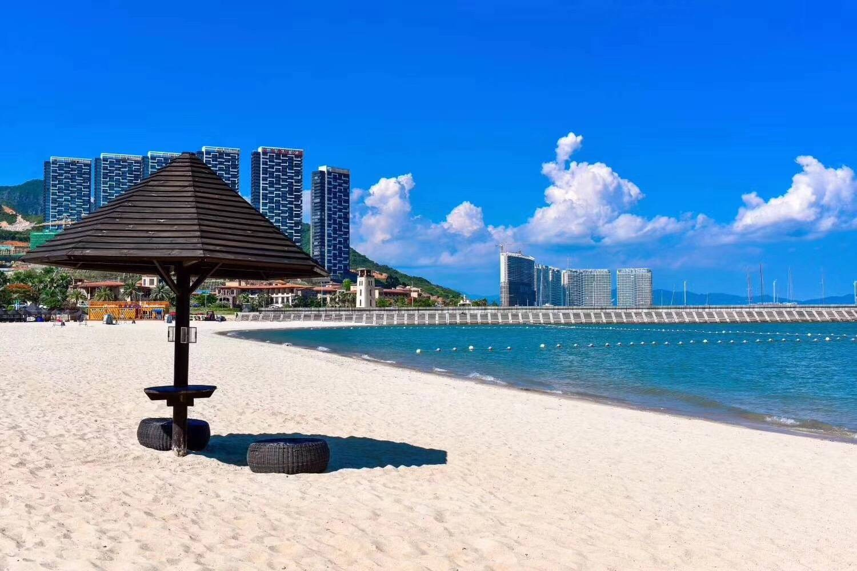 【惠州】299元抢合正东部湾海边度假公寓海景房,2张水公园门票+享私家沙滩,观海游玩享不停~